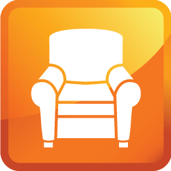 upholstery cleaning icon